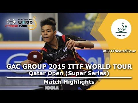 Qatar Open 2015 Highlights: LI Hon Ming vs CASSIN Alexandre (Pre. Rounds)