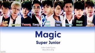 Super Junior (슈퍼주니어) – MAGIC (Color Coded Lyrics) [Han/Rom/Eng]