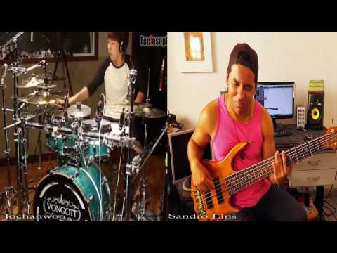 Jesus the same - ISRAEL & NEWBREED Sandro Lins & 조찬우 Drum and Bass cover