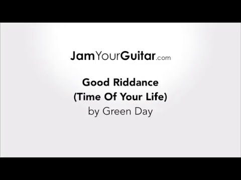 Green Day - Good Riddance (Time of Your Life) Chords & Lyrics