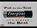 "Energizer ""Put to the Test. It's Simply the Best"" (1999)"