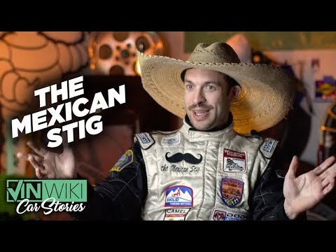 How I became the Mexican Stig
