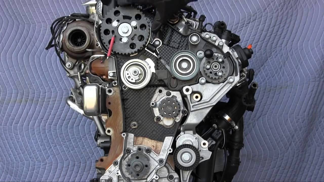 VW Jetta, Sportwagen, Golf TDI, and Audi A3 TDI timing belt replacement 2 0L engine  YouTube