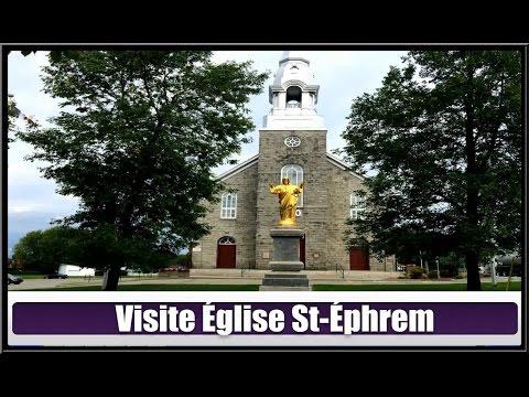 Église St-Éphrem(Hier @ Aujourd`hui)