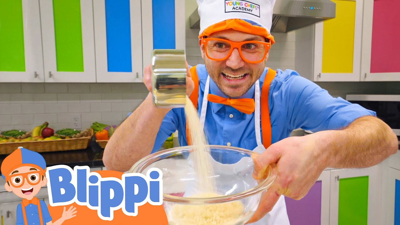 Download Baking With Blippi | Food Videos For Kids | Educational Videos For Toddlers