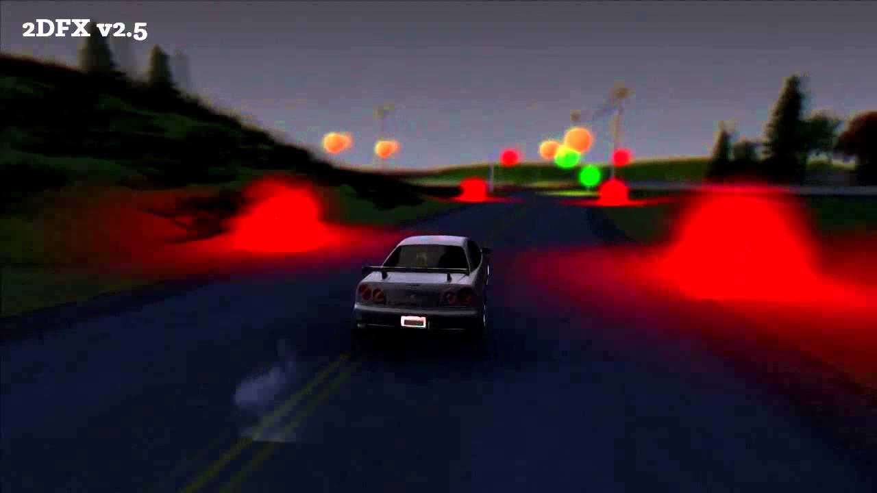 GTA San Andreas - ASI - 2DFX v2 5 - Revisit by Stuyk