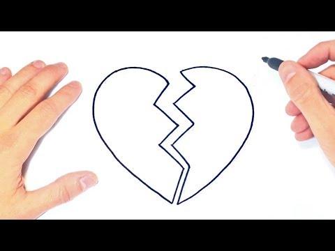 Download Cómo Dibujar Un Corazon Roto Paso A Paso Y Fácil Mp3 Mkv