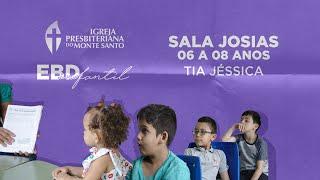 EBD INFANTIL IPMS | 13/09/2020 - Sala Josias (6 a 8 anos)