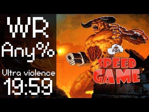 Speed Game: record du monde de Doom II en 19:59