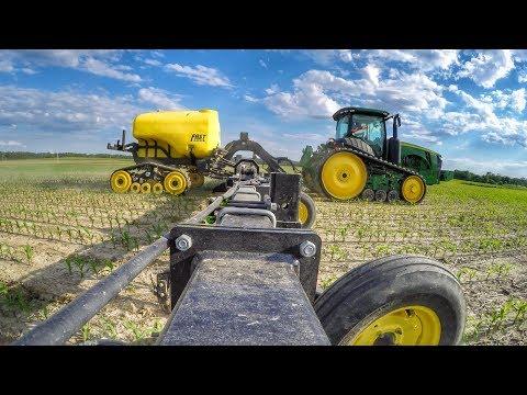 Side Dressing Corn 2017   Poynter Family Farms