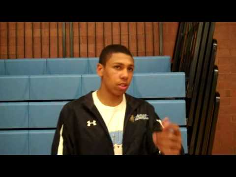 Utah high school basketball: Jordan Loveridge's post-game interview.