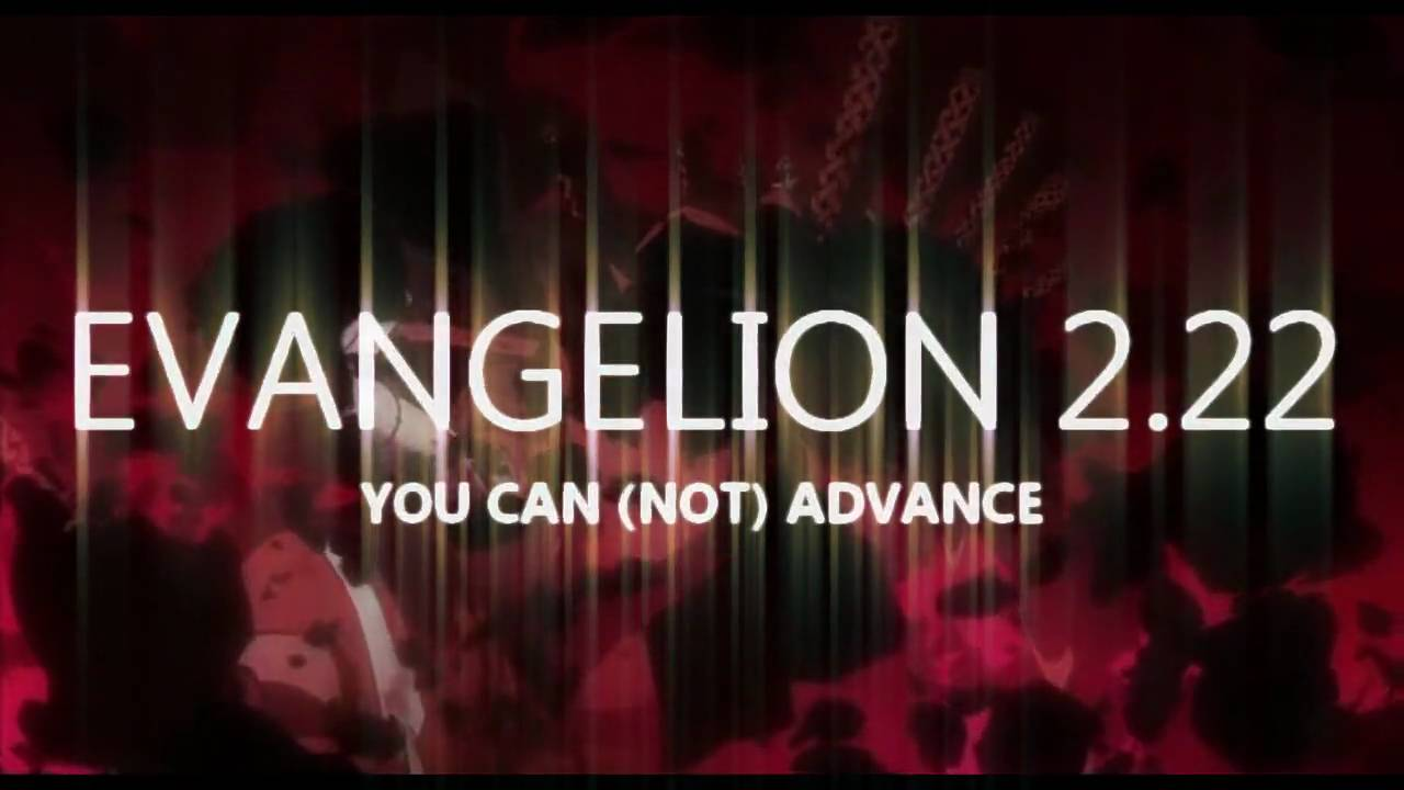 Evangelion 2 22 Theatrical Trailer Youtube