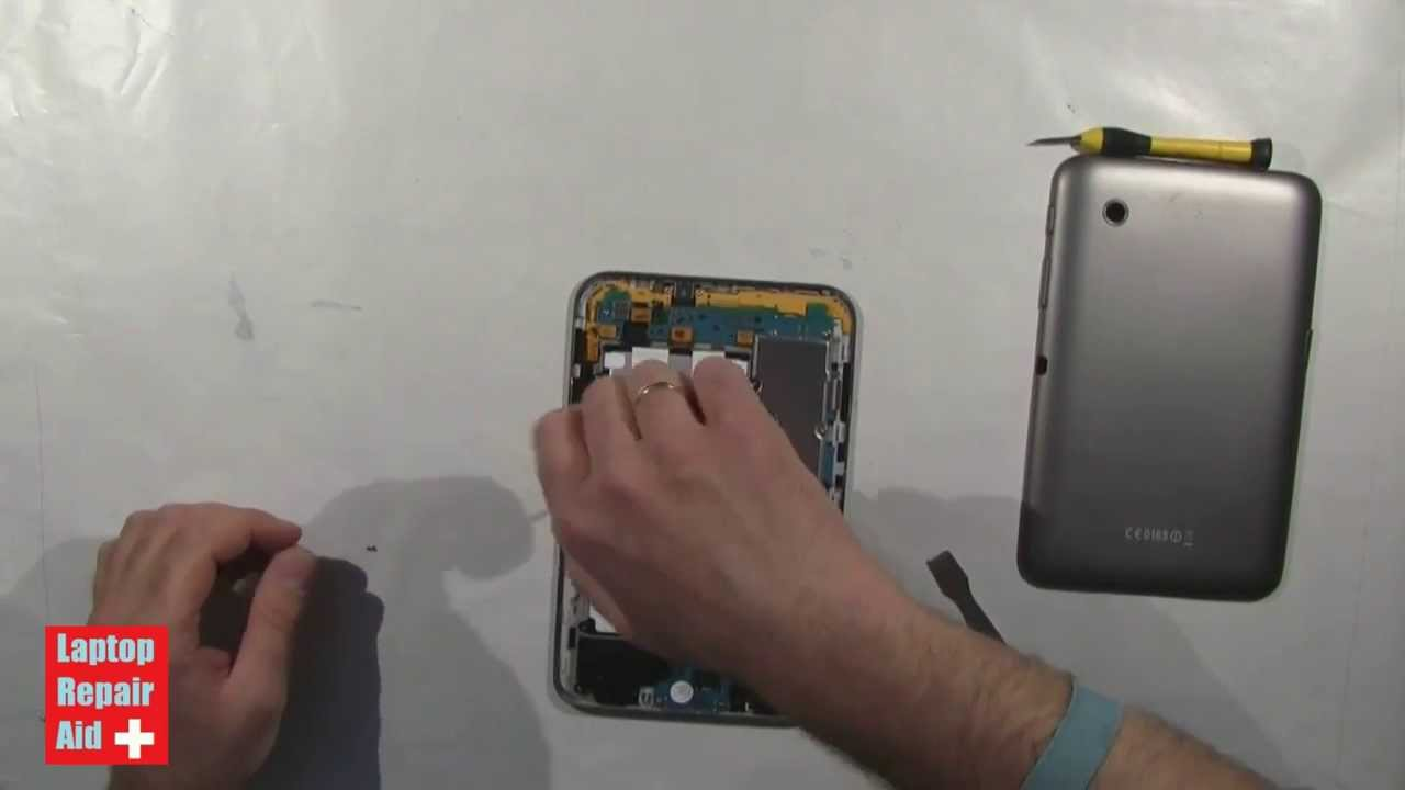 samsung galaxy tab 2 7 battery replacement youtube. Black Bedroom Furniture Sets. Home Design Ideas