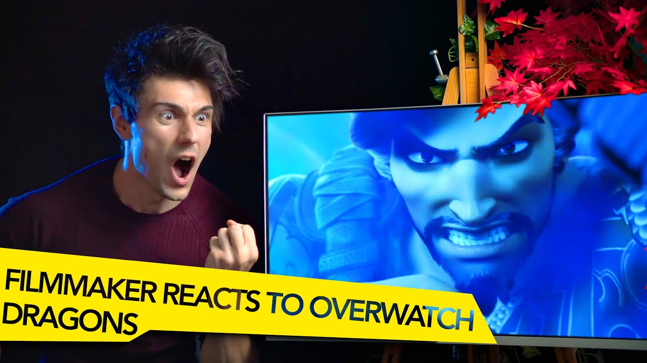 FILMMAKER REACTS TO OVERWATCH DRAGONS CINEMATIC!