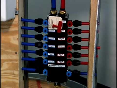 PEX Pipe  Manifolds  YouTube