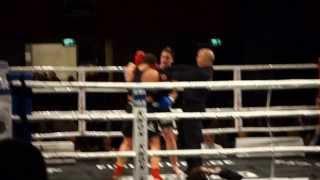 Worldtitle Fight Kickboxen ( Katrin Dirheimer vs. Anita Sinko ) 15.02.2014