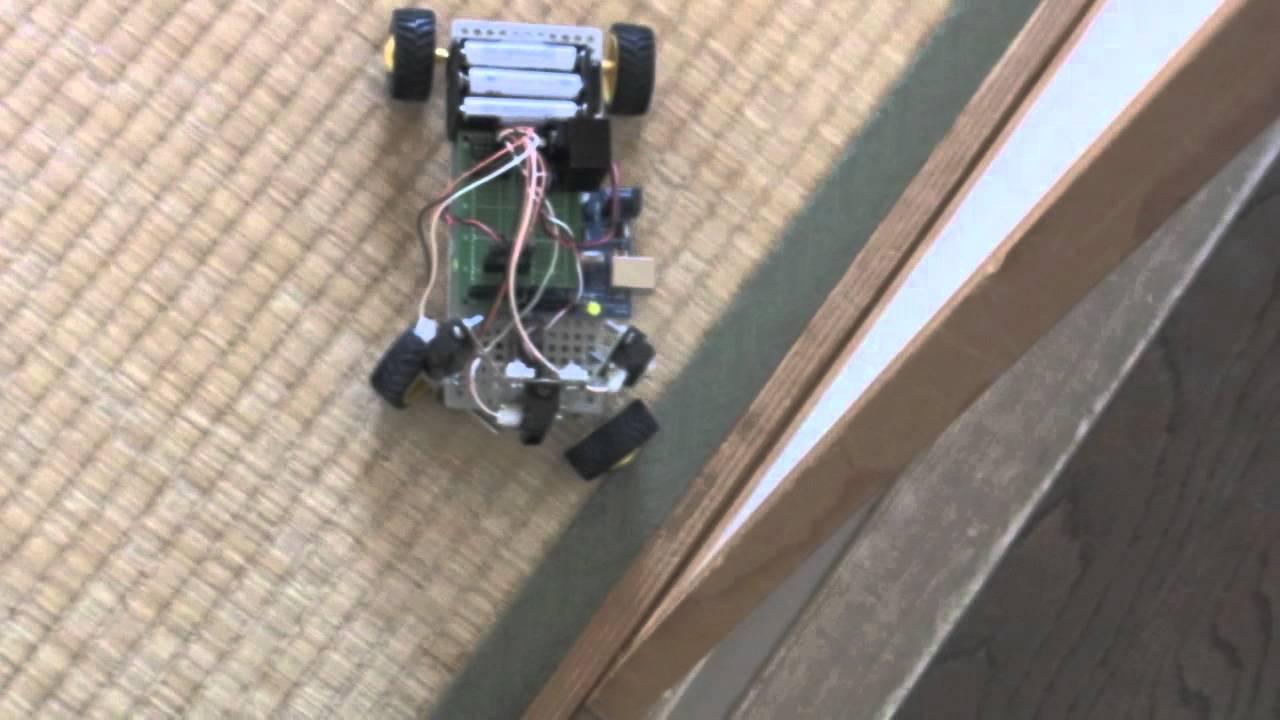 【hd】arduino using servo motor steering mechanism &psd