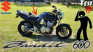 test 34ch pour 220kg suzuki bandit 600 de 1997