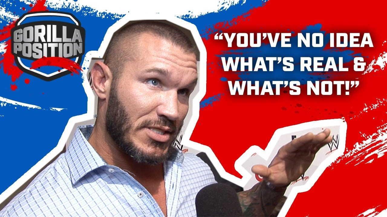 """Randy Orton pissed! """"You've no idea what's real & what's not!"""""""