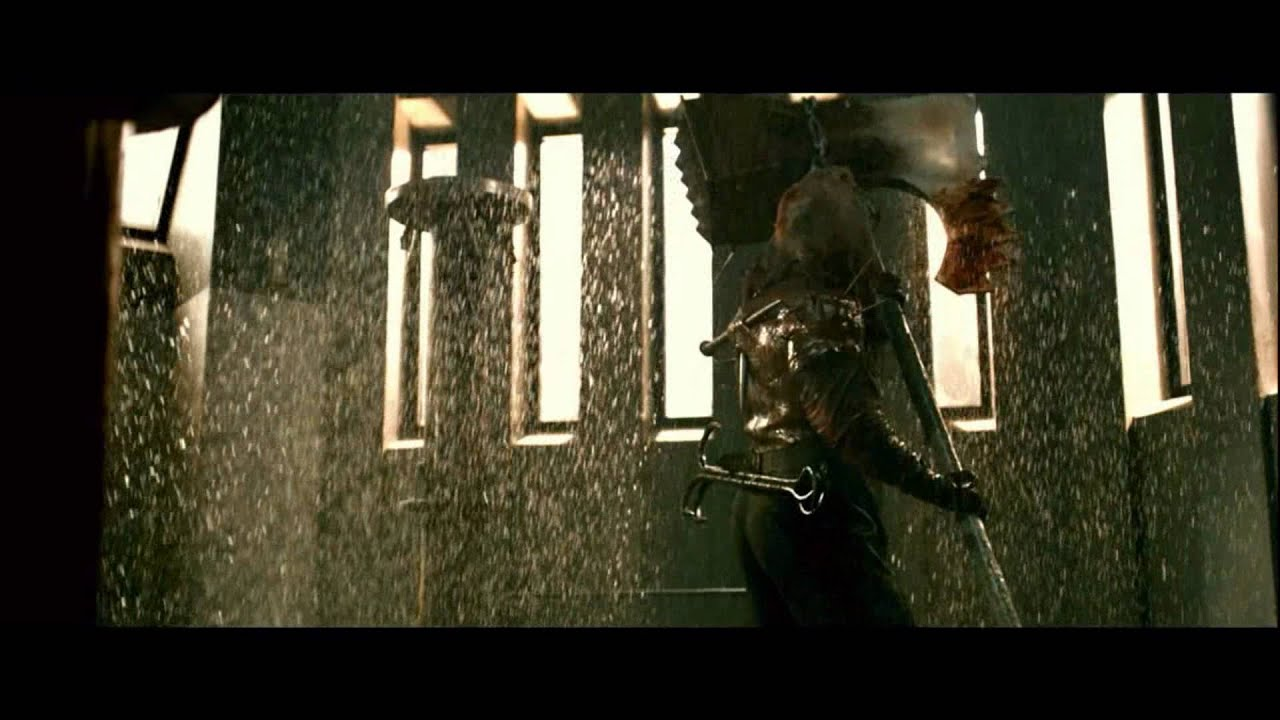 Epic Fight Scenes 4 Resident Evil Afterlife Alice Claire
