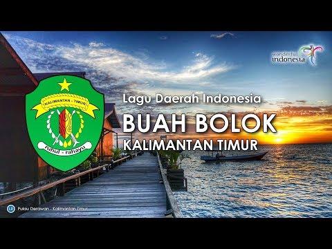 Buah Bolok - Lagu Daerah Kalimantan Timur (Karaoke dengan Lirik)