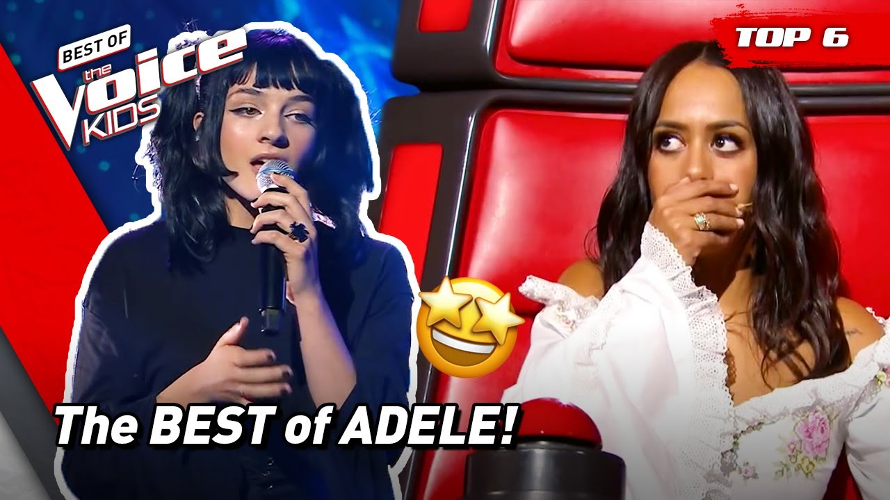 The BEST Covers of megastar ADELE on The Voice Kids 🤩(part 2) | Top 6