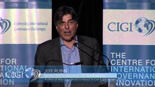 "Signature Lecture with Jeff Rubin: ""Oil and the End of Globalization"""