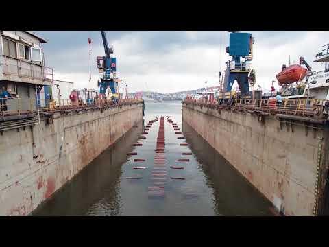 Floating Dock Operation - BEBEK-E
