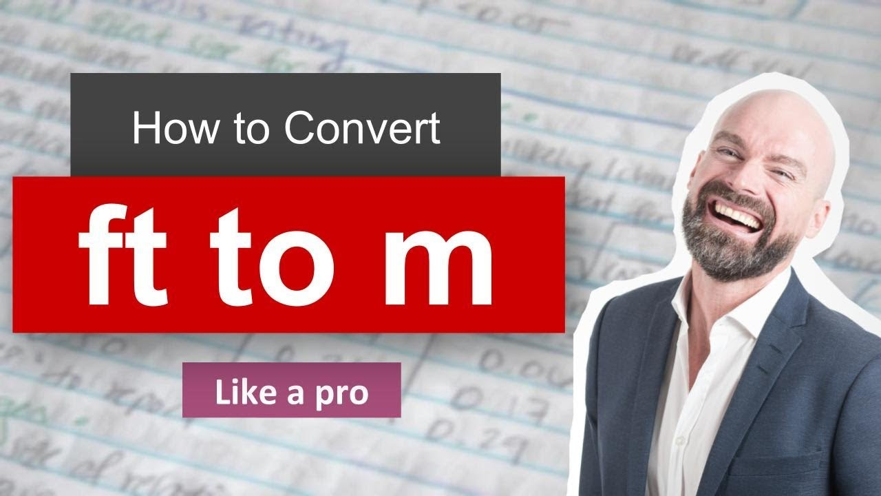 Convert Foot To Meter Ft To M Formula Example Convertion Factor
