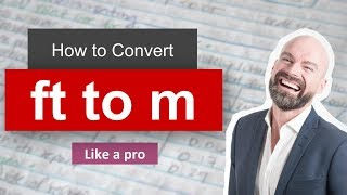wow convert foot to meter ft to m formula example convertion factor