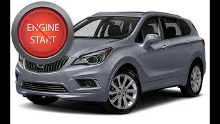 Buick Envision: Opening and starting these models with a dead key fob battery.