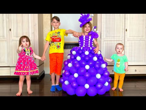 Five Kids Dress up Song Nursery Rhymes & Children's Song