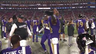 Marcus Peters celebrates his great performance against his former team