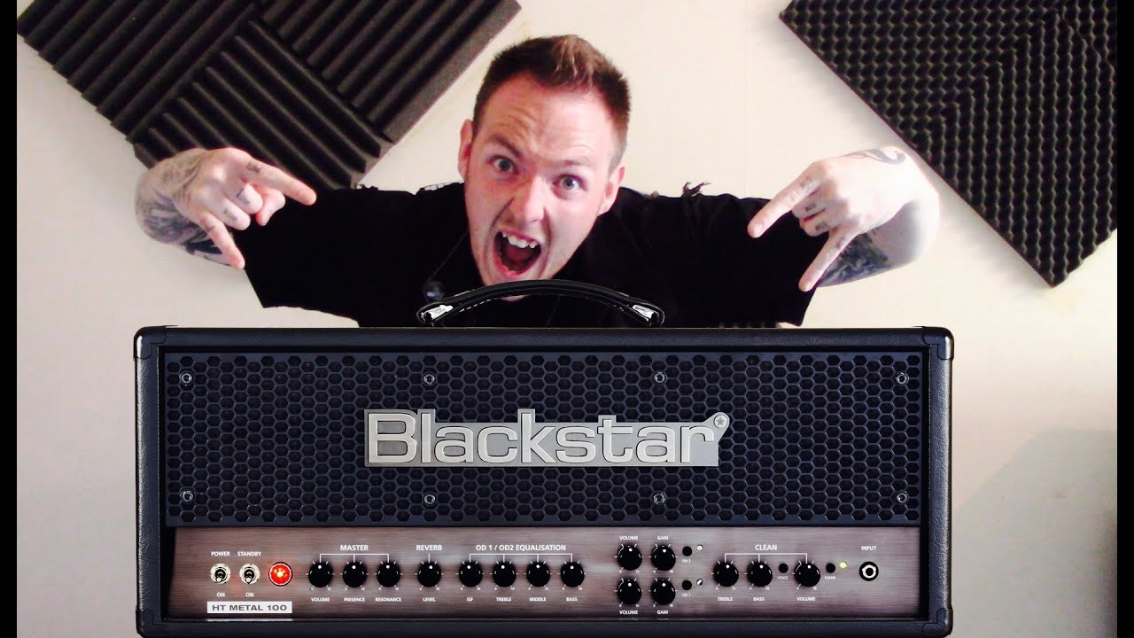 blackstar ht metal 100 guitar amp review youtube. Black Bedroom Furniture Sets. Home Design Ideas