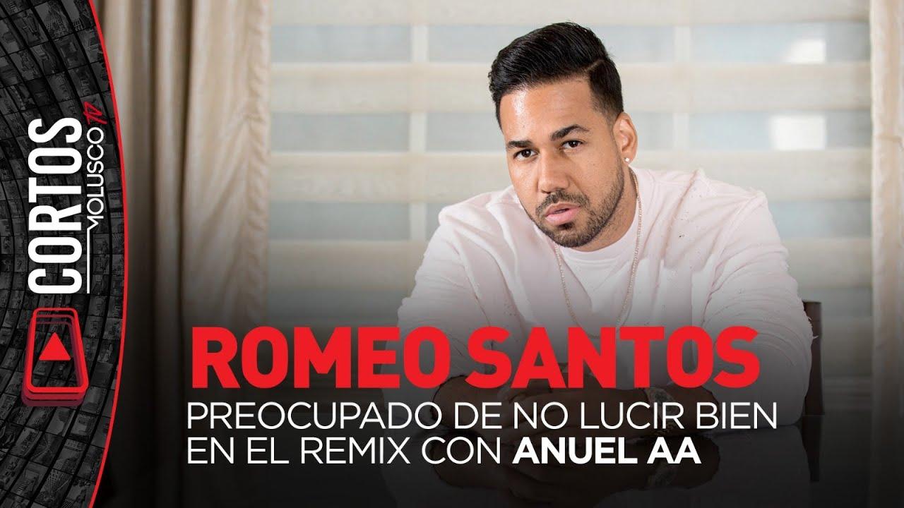 Romeo Santos preocupado de no lucir bien en el remix con Anuel AA