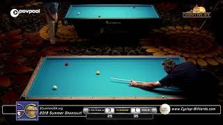 #13 - Mazin SHOONI vs Paul FELTMAN, JR. - $5K Added, Summer Shootout! / 3CushionUSA.org