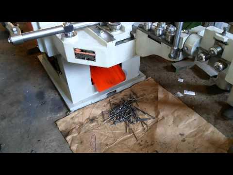 PREM WIRE NAILS MAKING MACHINE 5 INCHS