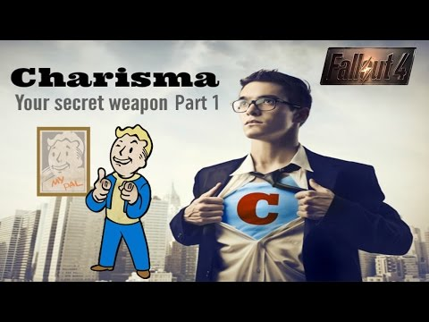 Fallout 4 Best Charisma Armor and Clothes! (Part 1) Perks and Apparel