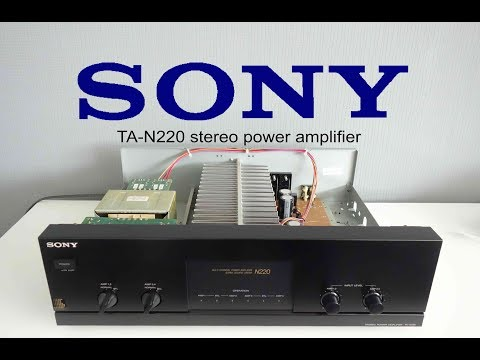 Sony TA N220  multi channel power amplifier