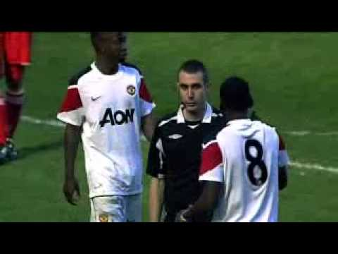 FA Youth Cup 2010-2011 sixth round :: LIVERPOOL 2 - MANCHESTER UNITED 3