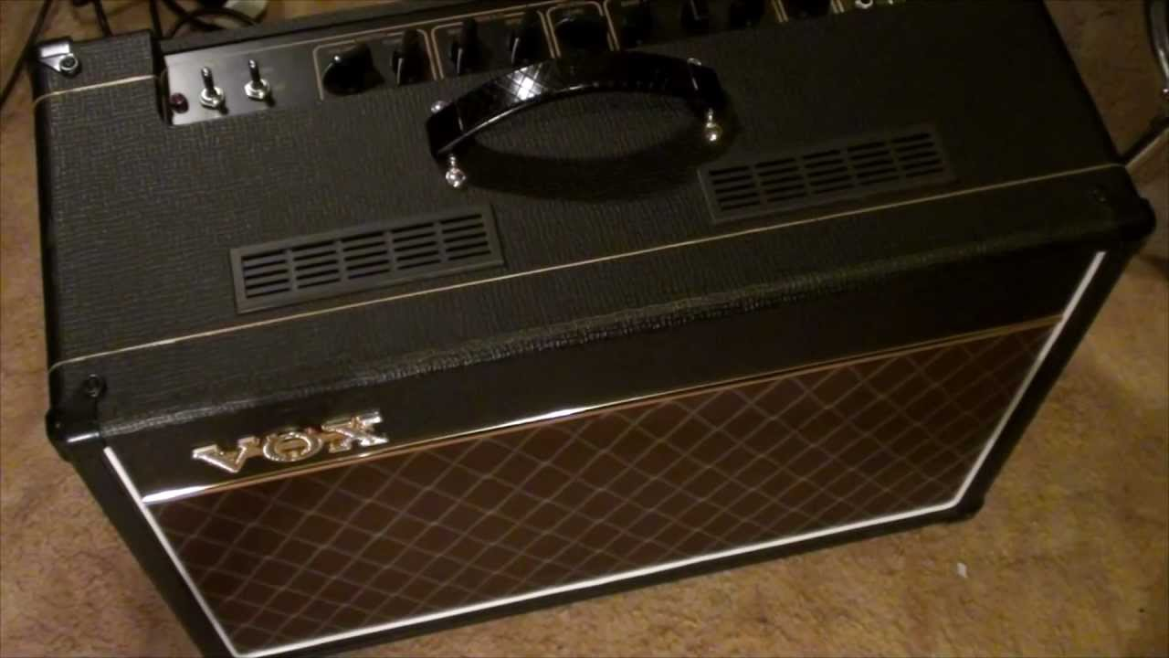 VOX AC-15 Amplifier (AC15C1) Overview (no playing) on