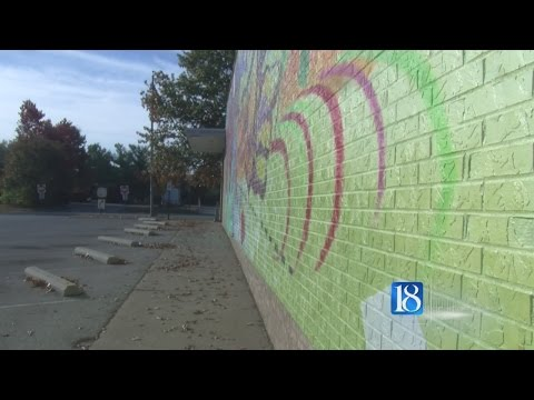 The man behind the West Lafayette Post Office mural