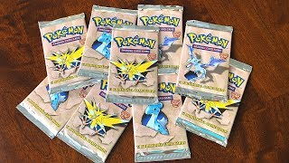 OPENING ORIGINAL POKEMON *FOSSIL* BOOSTER PACKS from 19 YEARS AGO!