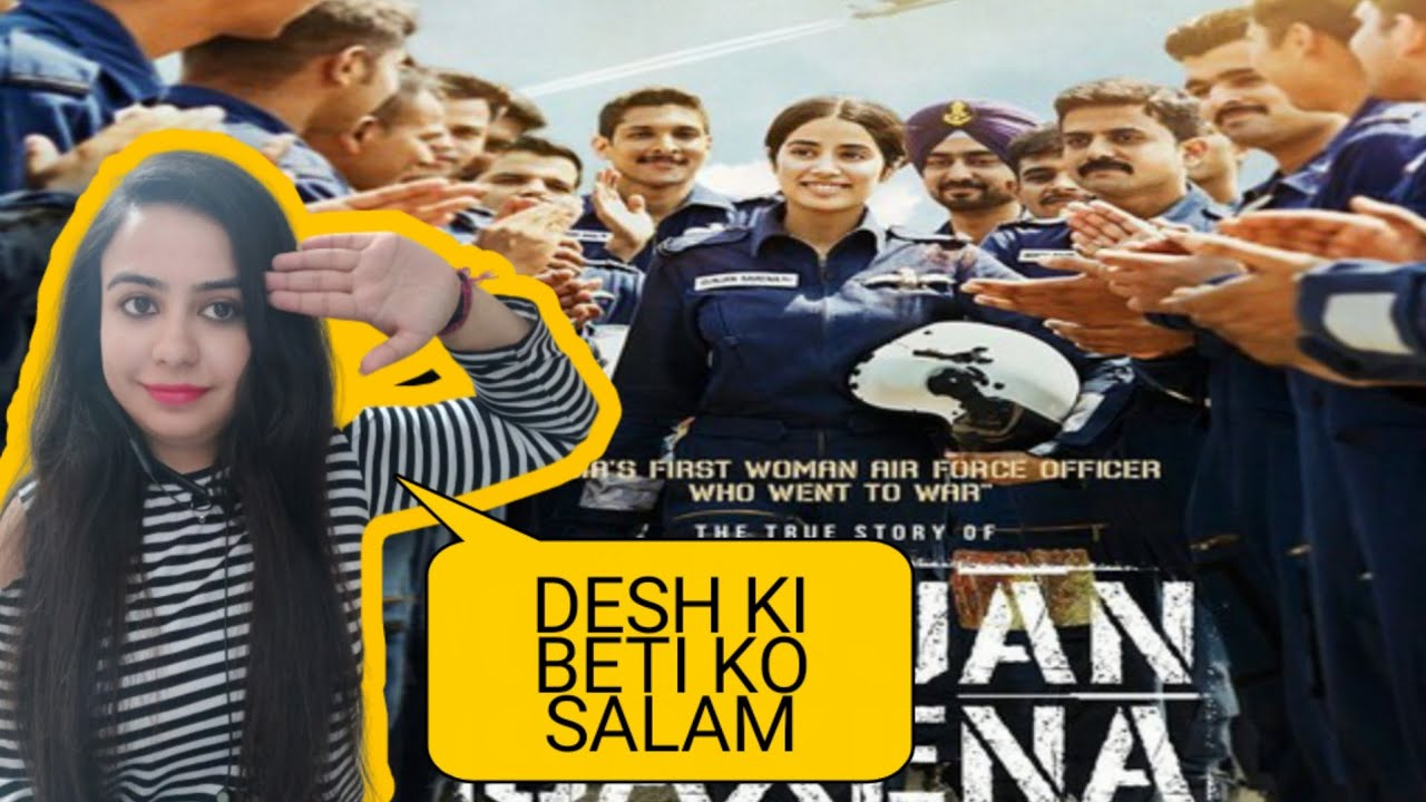 Gunjan Saxena Full Movie Review Netflix Jhanvi Kapoor Pankaj Tripathi Angad Bedi Karan Youtube