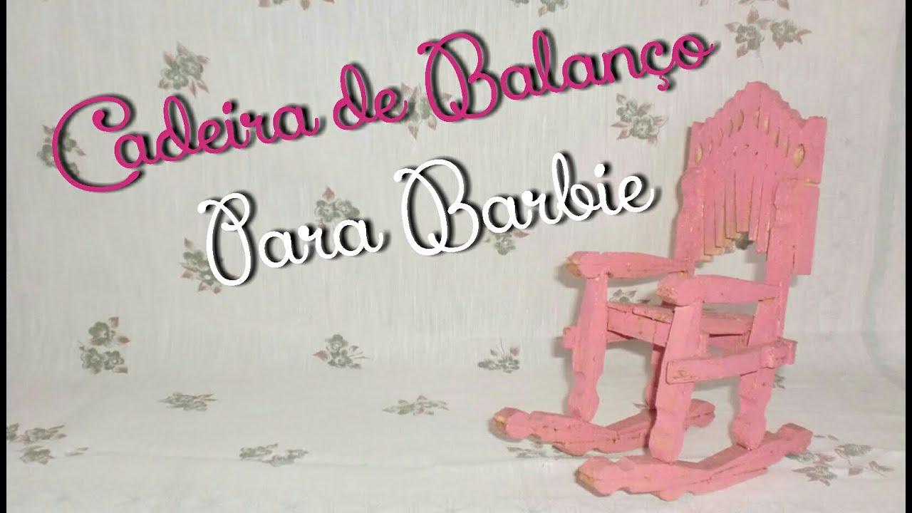 Como Fazer Cadeira de Balanço para Bonecas Barbie Monster High ou  #A62563 1632x930