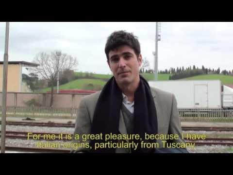 Passione na Toscana: interview with Reynaldo Gianecchini