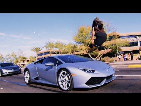 Phoenix Parkour Jam - Lamborghini Huracan Sideflip!