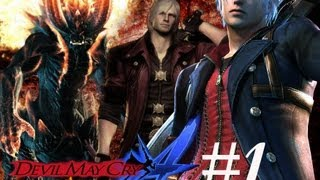 DMC: Devil May Cry 4 Walkthrough Mission 1 [Part 1] HD