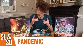 Pandemic + In the Lab & On the Brink Expansions - Shut Up & Sit Down Review