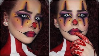 Sultry/Creepy Clown | Halloween Makeup Tutorial